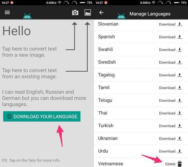 App quét chữ tiếng Việt trên điện thoại